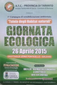 Giornata ecologica cacciatori