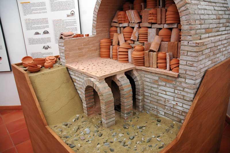 Ceramisti di grottaglie come si preparava il forno per la for Planimetrie con prezzo da costruire