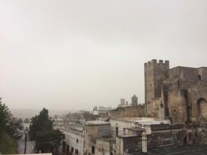 torre castello nebbia