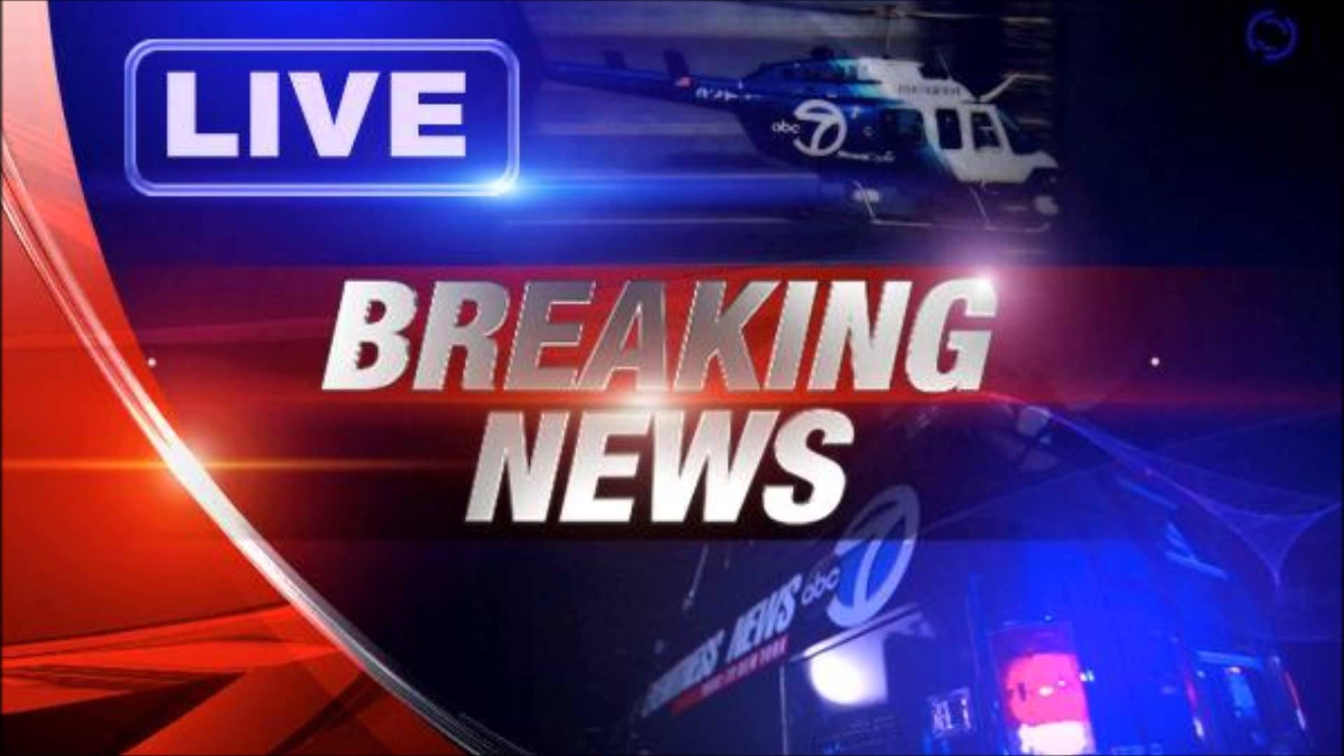 Breaking News Tv Background Breaking News Background Stock Footage