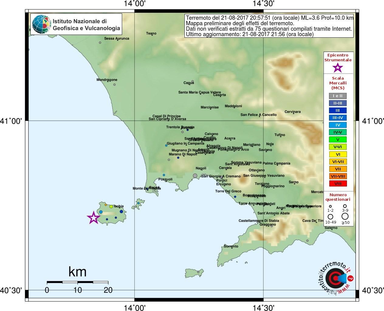 Terremoto Ischia,