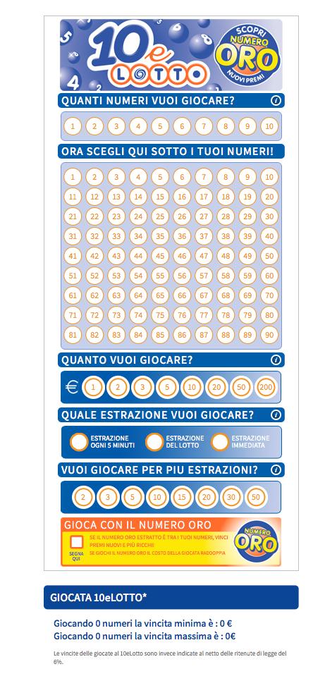 10 E Lotto Ogni 5 Minuti Numeri Da Giocare