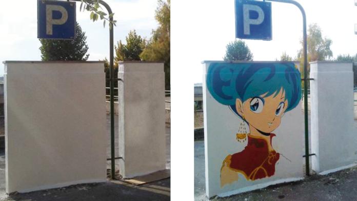 Grottaglie si colora con i cartoni animati murales manga e