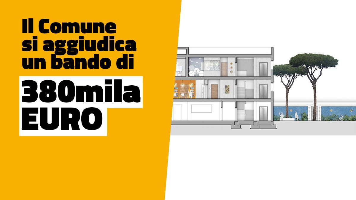 Ecco la nuova biblioteca di grottaglie 2 piani di for Piani classici per la nuova inghilterra
