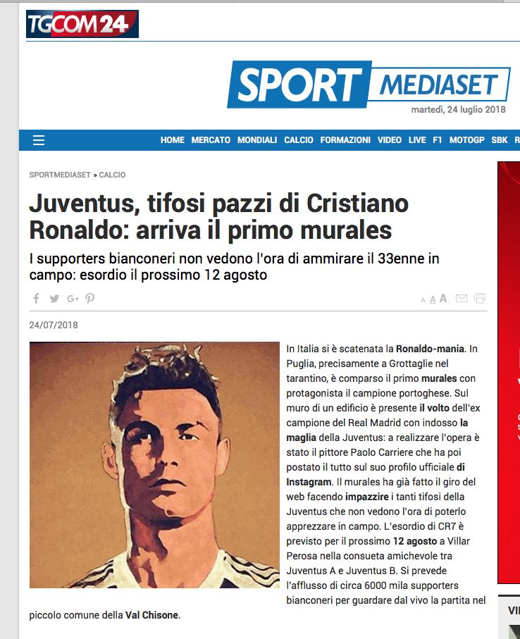Cristiano Ronaldo trova l'accordo con il Fisco