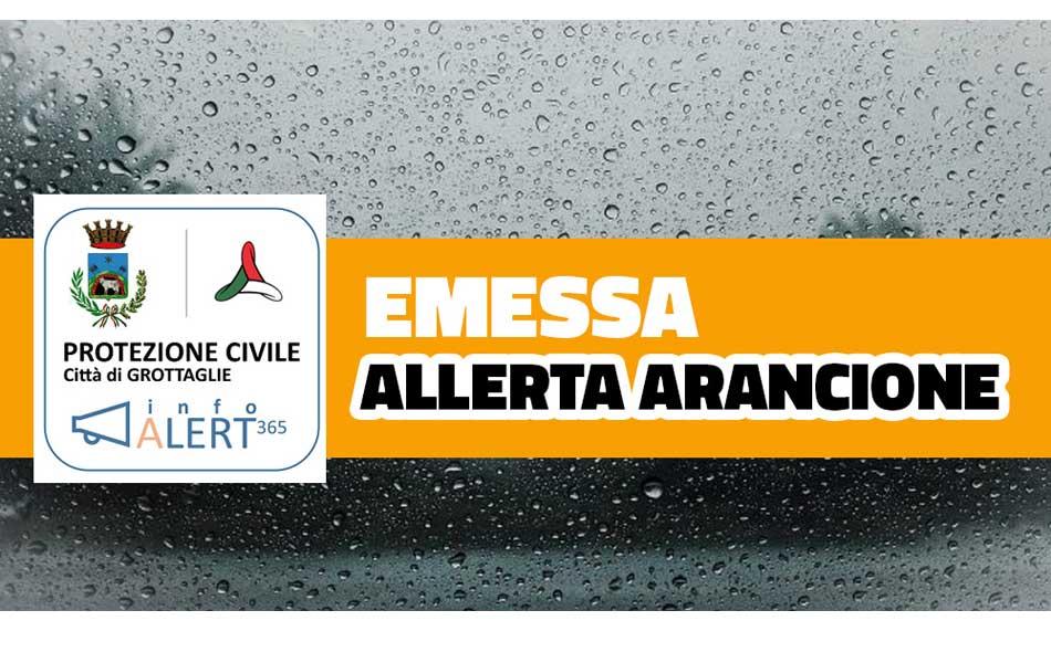 Ultim'ora Maltempo a Grottaglie, Cambia lo scenario: l'Allerta diventa Arancione - Grottaglie in rete