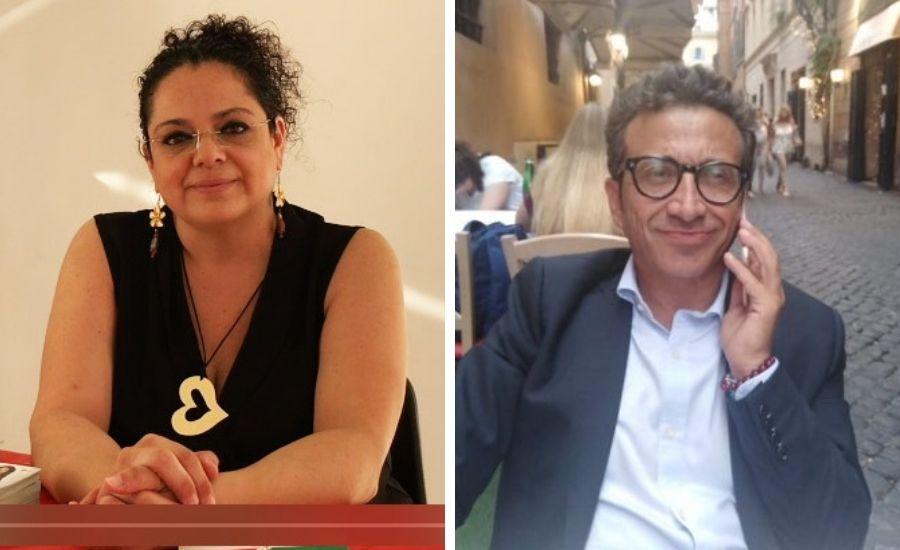 Anna Rita Palmisani e Luciano Santoro