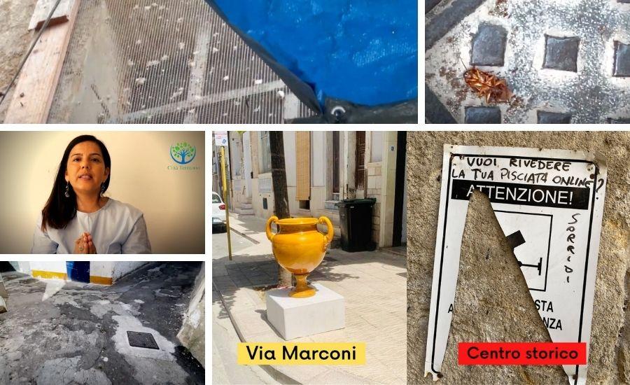 Maria Santoro centro storico denuncia